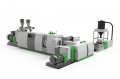 ADS Double Stage Cutter Compactor Recycling Pelletizing Line