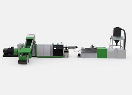 压实切割回收造粒系统