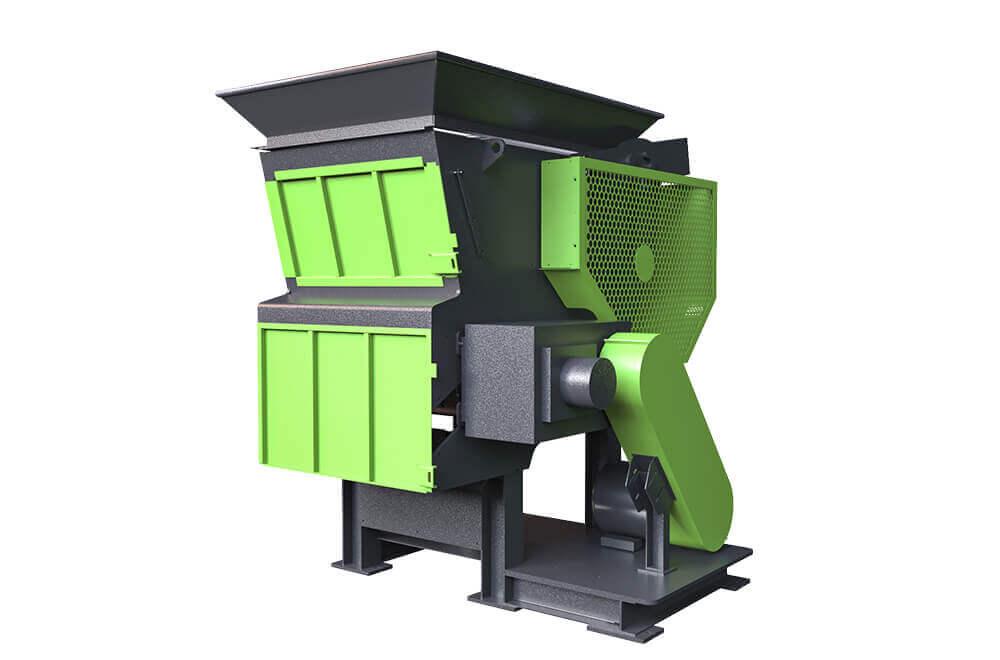 MS Series Adjustable PP PVC PE HDPE Pipe Waste Industail Plastic Shredder