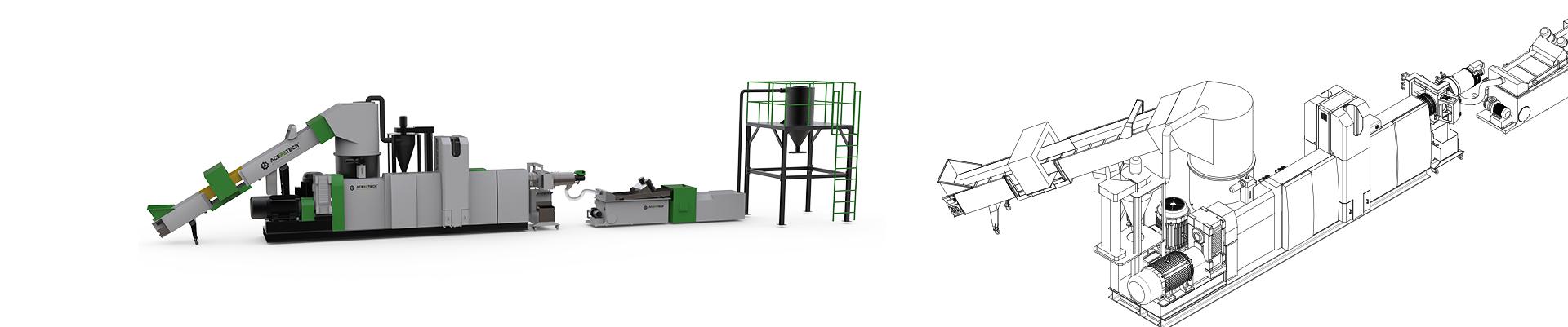 ACS-PRO卓越排气过滤造粒生产线