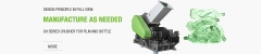 GP Series Plastic Crusher Machine For Grinding Long Plastic Pipes
