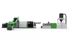 ACS-H单阶压实切割回收造粒生产线