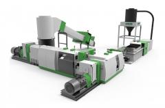 ACS-HD双阶压实切割回收造粒生产线